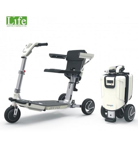 scooter ATTO con braccioli LIFE ausili che ti cambiano la vita