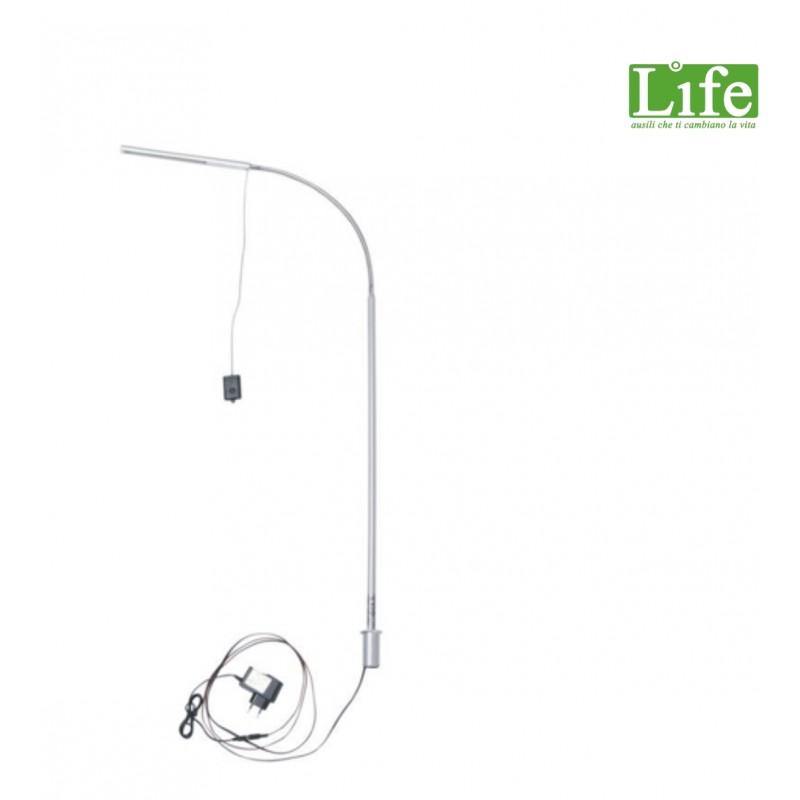 Lampada orientabile a led con regolatore di intensità luminosa LIFE ausili che ti cambiano la vita