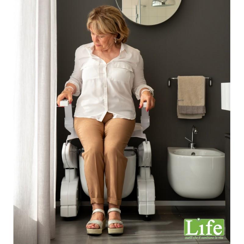 Sollevatore WC Misolleva Deluxe  per anziani e disabili