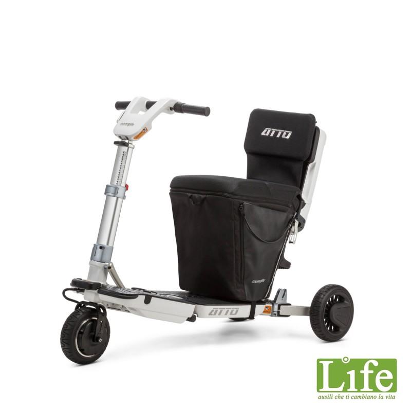 ATTO Scooter elettrico che si trasforma in trolley