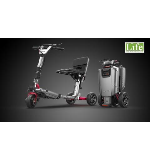 Scooter elettrico pieghevole ATTO Sport per anziani e disabili