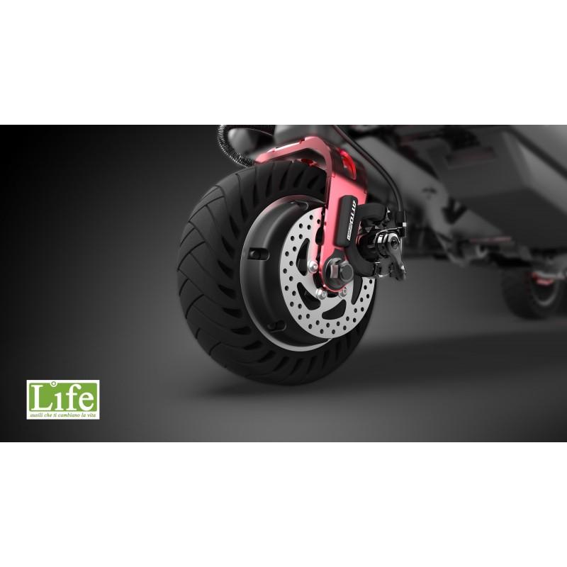 Scooter elettrico pieghevole ATTO Sport per anziani e disabili freni a disco