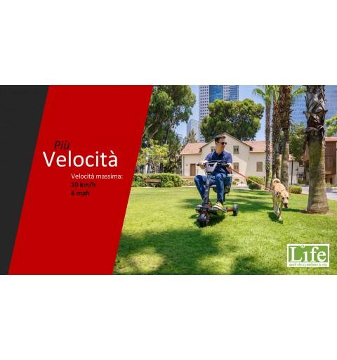 Scooter elettrico pieghevole ATTO Sport per anziani e disabili sino a 10 km/h