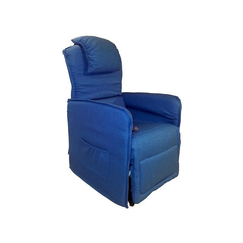 Poltrona relax motorizzata Slim con alzapersona - Roller System per la movimentazione/degenza dell'anziano/disabile su ruote