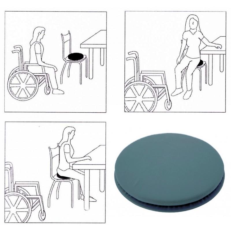 Roller cuscino girevole: ausili per alzate e sedute