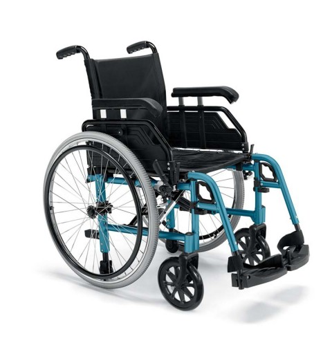 Carrozzina per disabili Aluminum - iva agevolata 4%
